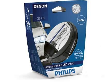 85126whv2c1_лампа! Xenon (D2r) 35w P32d-3 Whitevision Gen 2 Philips арт. 85126WHV2C1