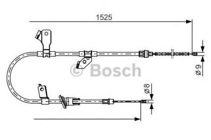 Трос cтояночного тормоза Bosch 1987482247