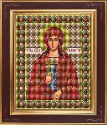 Вышивка бисером Galla Collection М274 Св.великомученица Маргарита 12х15 см