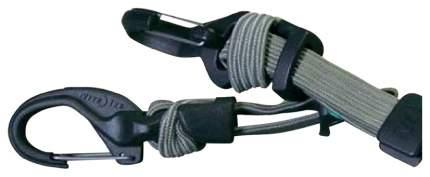 Крепление с карабином и веревкой Nite Ize Knotbone Adjustable Flat Bungee KBBF-03-26