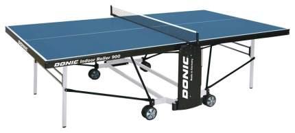 Теннисный стол Donic Indoor Roller 900 синий, с сеткой