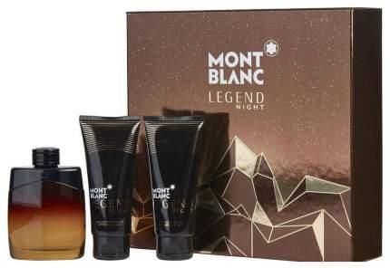 Парфюмерный набор MontBlanc Legend Night