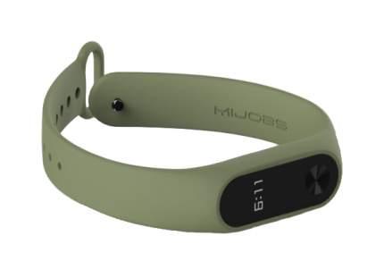 Ремешок для смарт-браслета Xiaomi MiJobs для Xiaomi mi band 2 green
