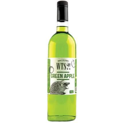 Сироп WTS?! зеленое яблоко 1 л