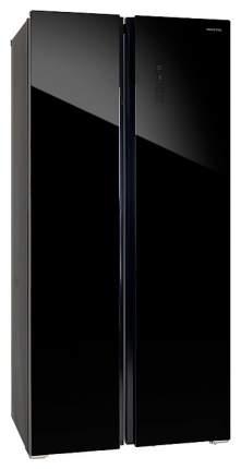 Холодильник Hiberg RFS-480D NFGB Black