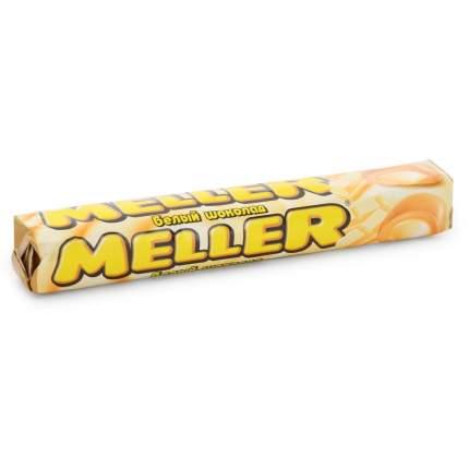 Ирис Meller с белым шоколадом 38 г блок 24 штуки
