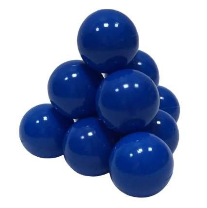 Шарики в наборе для игрового бассейна 50 шт, диам 7см, синие