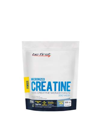 Be First Micronized Creatine Monohydrate Powder 500 г без вкуса