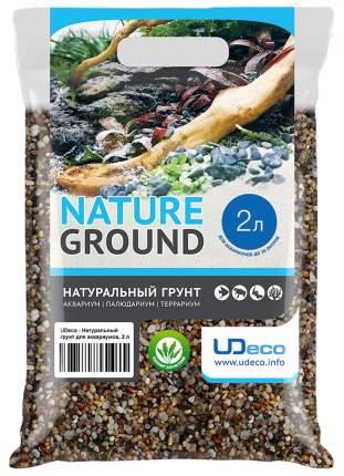 Грунт для аквариума UDeco River Amber 2-5 мм 2л