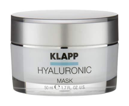 Маска для лица Klapp Hyaluronic Mask 50 мл