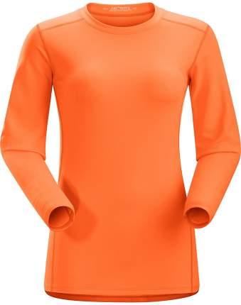 Лонгслив Arcteryx Phase AR Crew LS 2016 женский оранжевый, L