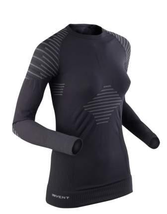 Лонгслив X-Bionic Invent Shirt Long Sleeves 2018 женский черно-серый, M