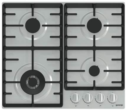 Встраиваемая варочная панель газовая Gorenje GW641ZCX Silver