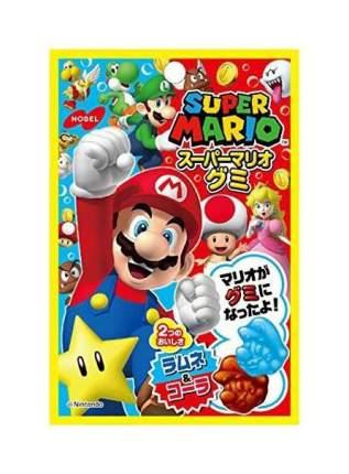Мармелад Nobel супер Марио со вкусом лимонада рамунэ и кока-колы 45 г