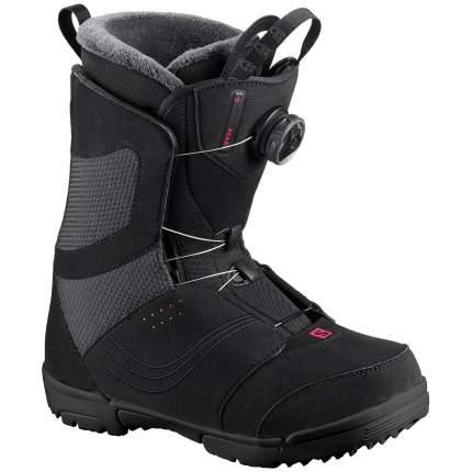 Ботинки для сноуборда Salomon Pearl BOA 2018, black, 24.5