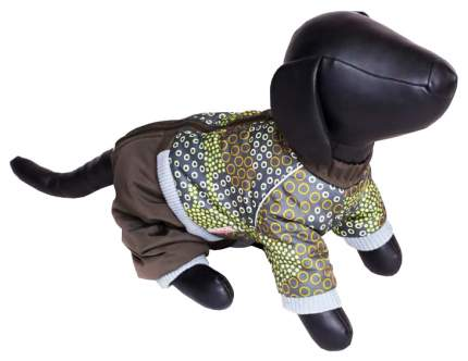 Комбинезон для собак Зоо Фортуна размер XL мужской, коричневый, длина спины 40 см