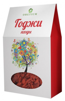 Ягоды Оргтиум годжи экологические 100 г