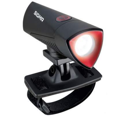 Велосипедный фонарь передний Sigma Buster 700 черный