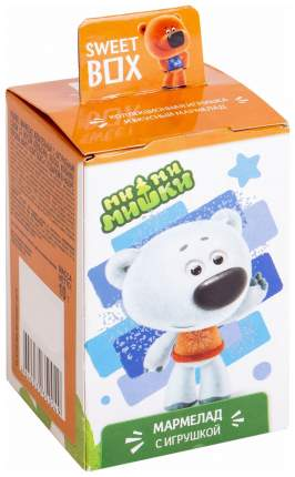 Мармелад жевательный Sweet box ми-ми-мишки с игрушкой 10 г