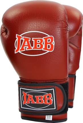 Боксерские перчатки Jabb JE-4025 бордовые 12 унций