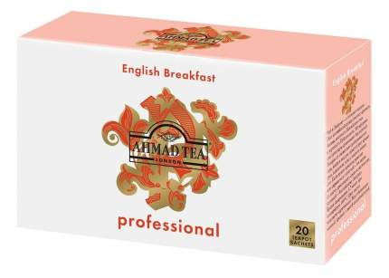 Чай Ahmad английский завтрак черный для чайников 20 пакетиков