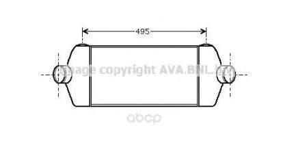 Радиатор охлаждения двигателя Ford Transit Ava FDA4406