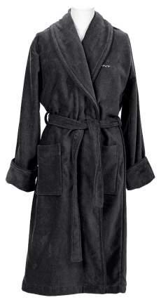 Халат Gant Home Premium Velour Robe 856002603 серый S