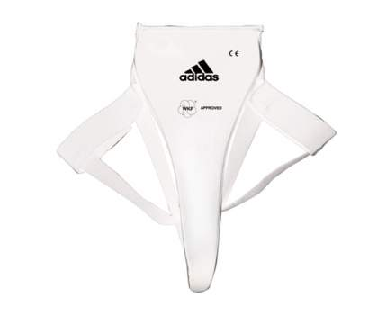 Защита паха женская Adidas WKF Lady Groin Guard белая M