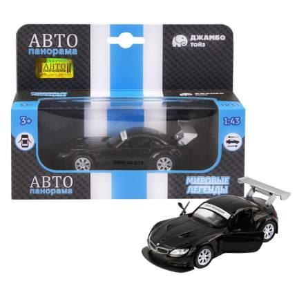Машинка металлическая Автопанорама 1:38 BMW Z4 GT3 черный JB1200132