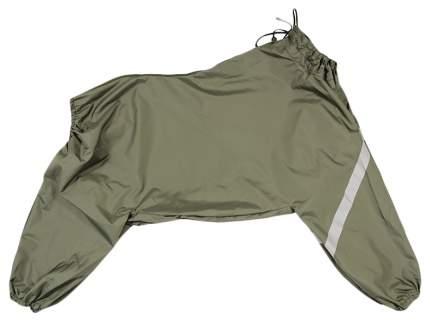 Комбинезон для собак Gamma унисекс, зеленый, длина спины 53 см