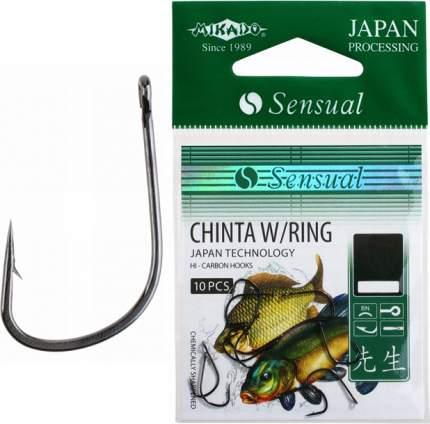 Рыболовные крючки Mikado Sensual Chinta W/Ring №8, 10 шт.