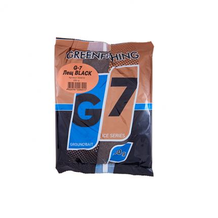 Прикормка зимняя Green Fishing G-7 Ice Лещ Black 0,5 кг