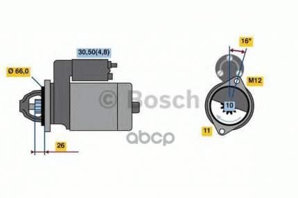 стартер Bosch 0001138013