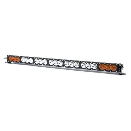 Двухцветная однорядная светодиодная балка 6000K  210 ватт комбинированный свет OBP-210W