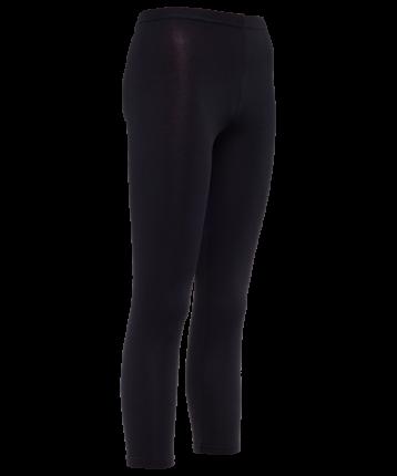 Леггинсы женские Amely AA-2501, черные, 46 RU
