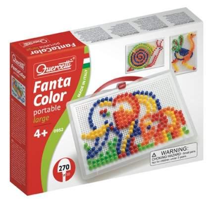 Мозаика Quercetti фантастические цвета 270 деталей