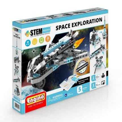 Конструктор ENGINO STH51 STEM Heroes. Набор из 5 моделей. Освоение космоса