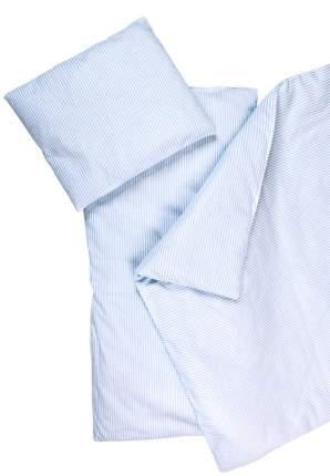 Комплект в коляску Сонный гномик 3 пр. Полосочки голубой