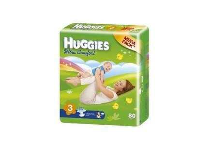 Подгузники Huggies Ultra Comfort (3 (5-9 кг) 80 шт)