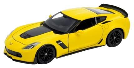 Модель машины Welly 1:24 Chevrolet Corvette 24085