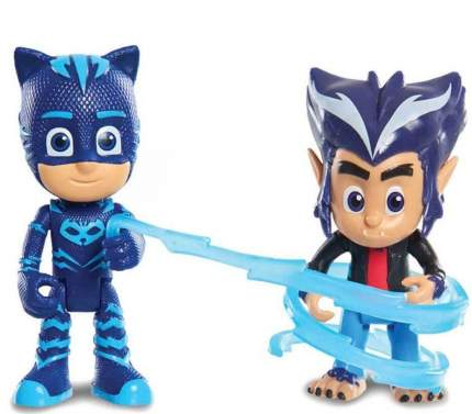 Игровой набор Герои в Масках PJ Masks Кэтбой и волчонок Хоулер
