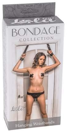 Наручники Lola Toys 99951 hanging wristbands plus size подвесные для двери р. XL