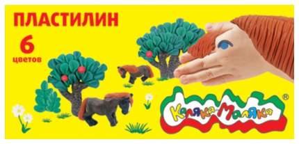 Набор для лепки из пластилина Каляка-Маляка ПКМ06