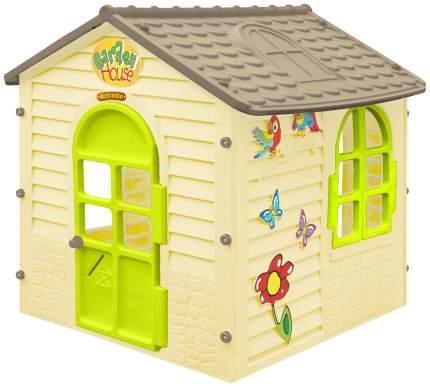 Игровой домик MochToys Garden House 11558 Бежевый