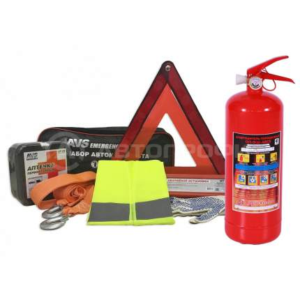 Набор автомобилиста AVS Emergency (7 предметов)