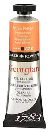 Масляная краска Daler Rowney Georgian оранжевый пирольный 75 мл