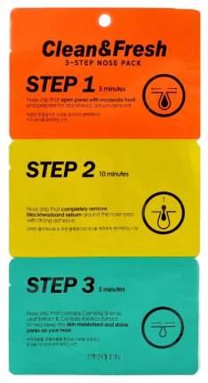 Средство для очищения Eunyul Clean&Fresh 3-Step Nose Pack 3 шт