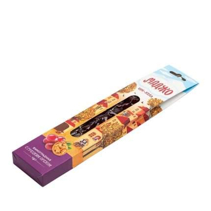 Чурчхела Маджо с грецким орехом виноградная вакуум 80 г