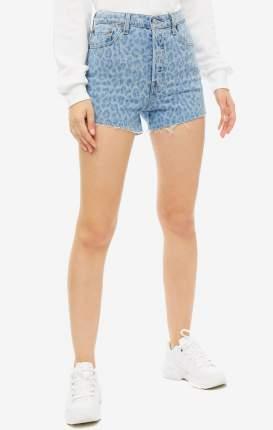 Повседные шорты женские Levi's 7787900290 синие 23 US