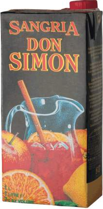 Вино  Don Simon Sangria Tetra Pak 1 л